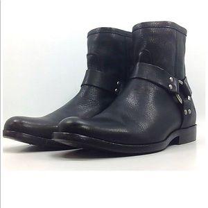 Frye Women's Phillip Harness Short Boots (Black)